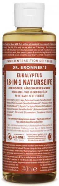 Naturseife Eukalyptus 18-in-1 Dr. Bronner's