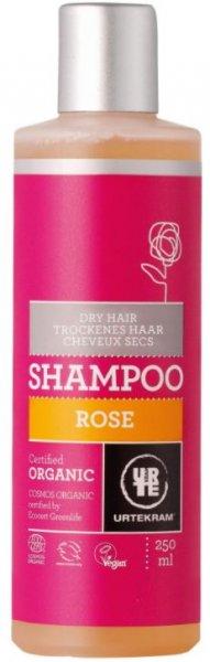 Rose Shampoo von Urtekram für trockene Haare