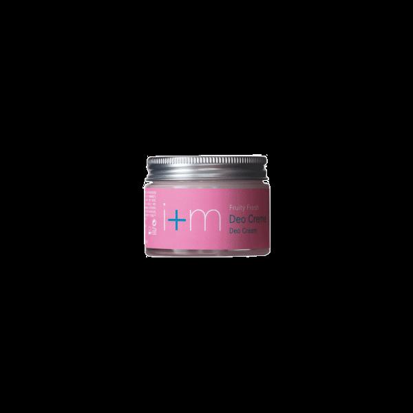 Deo Creme Beauty Fresh 30ml in Glastiegel von i+m Naturkosmetik