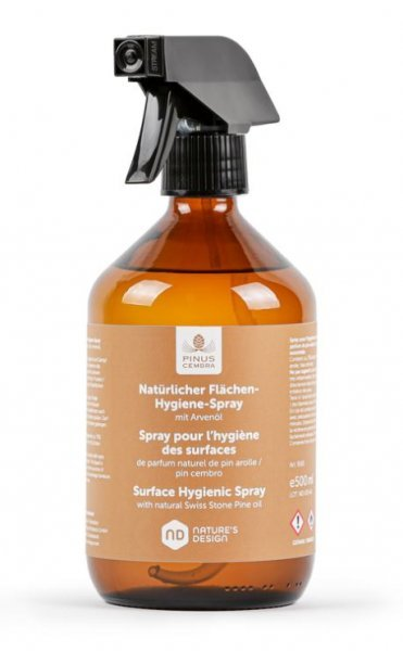 natürlicher Flächen-Hygienespray mit Arvenöl 500ml