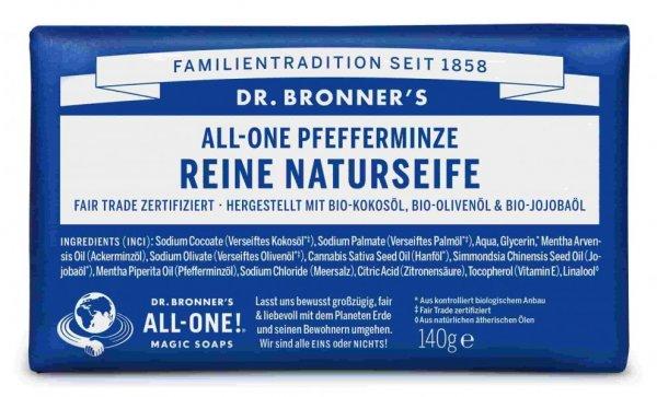 Naturseife Pfefferminze Dr. Bronner's