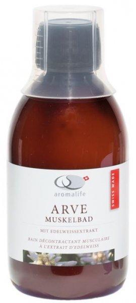 Arve Muskelbad mit Edelweissextrakt 250ml von Aromalife
