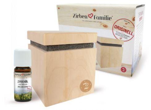 Zirbenwürfel Premium-Edition Set Zirbenfamilie