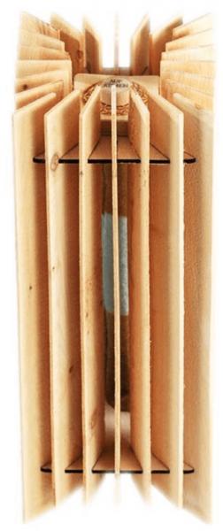 Luftikus Pur aus Arvenholz, Zirbenholz