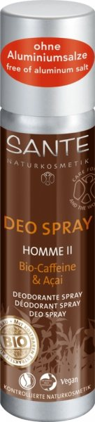 Deo Spray Homme II mit holzig-duftend