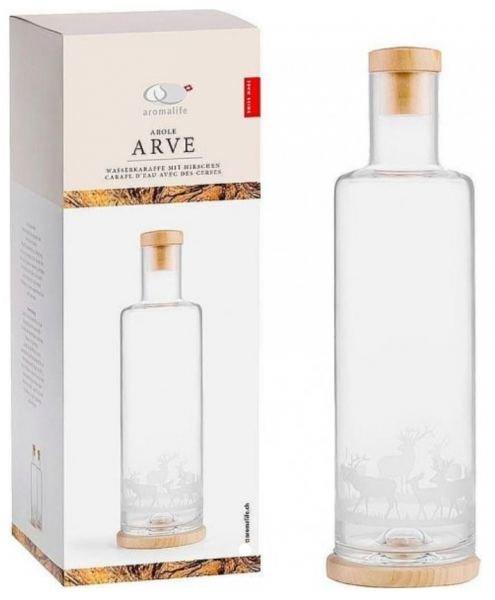 ArvenKaraffe im Hirsch Design 1 Liter