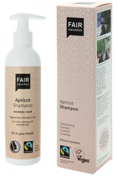 Fair Squared Shampoo Aprikose mit 250ml Inhalt - Vegan