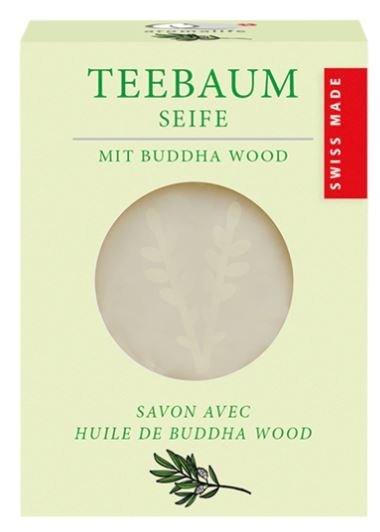 Teebaum Seife mit Buddha Wood 90g