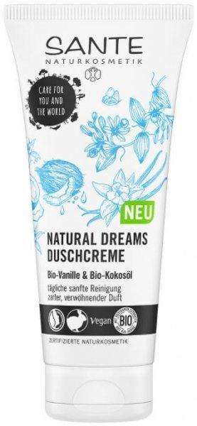 Duschcreme Natural Dreams Bio-Vanille & Bio-Kokos