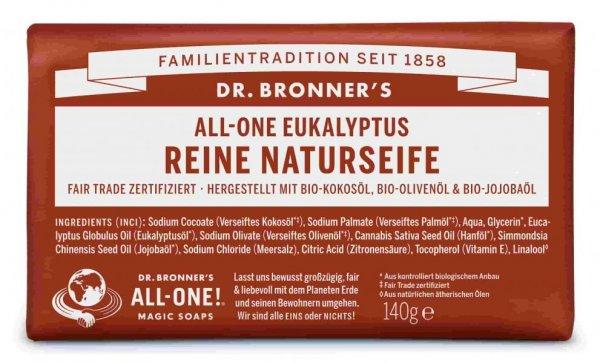 Naturseife Eukalyptus Dr. Bronner's