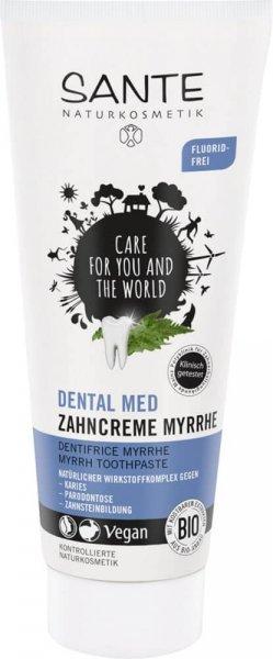 Zahncreme Myrrhe Dental Med Fluoridfrei SANTE