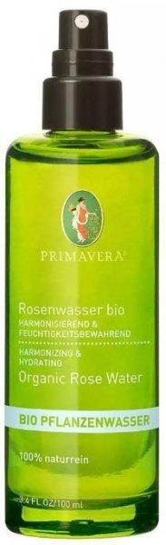 Rosenwasser Bio von Primavera mit 100ml