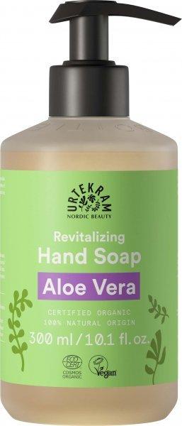 zart pflegende Flüssigseife mit reichhaltigem Aloe Vera-Extrakt und Glycerin