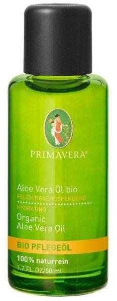 Pflegeöl von Primavera - 50ml naturreines Aloe Vera