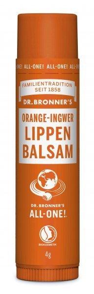 Lippenbalsam Orange & Ingwer Dr. Bronner's