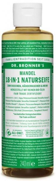 Naturseife Mandel 18-in-1 Dr. Bronner's