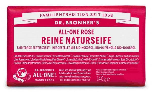 Naturseife Rose Dr. Bronner's