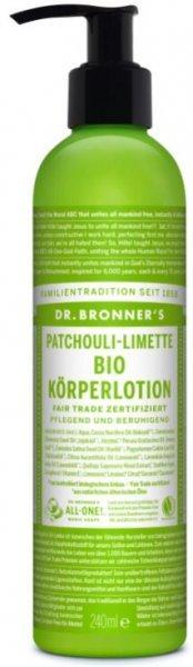 Körperlotion Patchouli-Limette Bio 240ml Dr. Bronner's