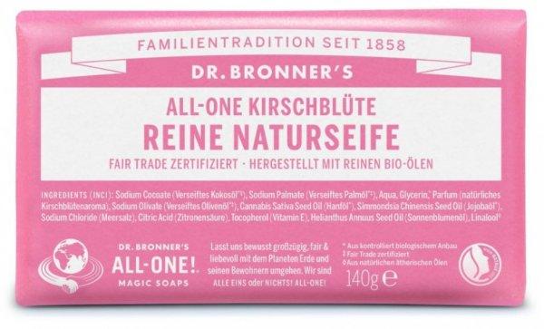 Naturseife Kirschblüte Dr. Bronner's