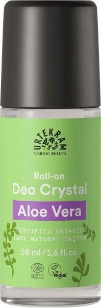 Deo Roll-On Cyrstal mit Aloe Vera von der Marke Urtekram
