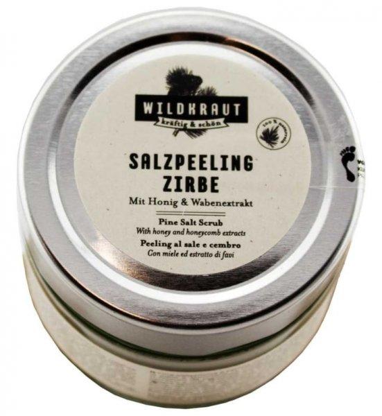 Salzpeeling Zirbe für eine erfrischende Hautregeneration