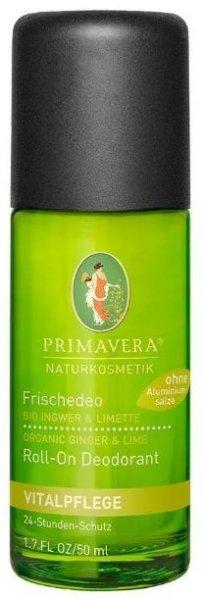 Frischdeo mit Ingwer und Limette - 24-Stunden-Schutz