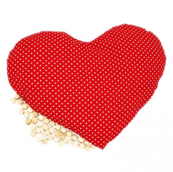 Arvenholzkissen in Herzform