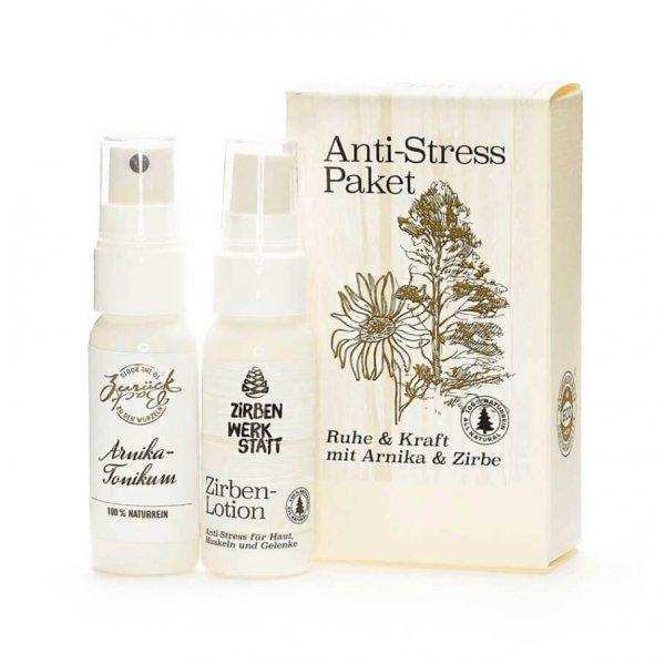 Anti-Stress Paket mit Zirbe(Arve) und Arnika