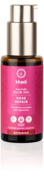 Ayurvedisches Haaröl Rose Repair Khadi