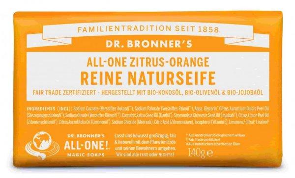 Naturseife Zitrus Orange Dr. Bronner's