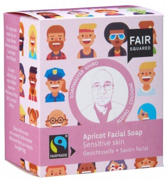 Gesichtsseife Aprikose (Apricot), für sensible Hauttypen von Soapmaster Khiro für Fair Squared