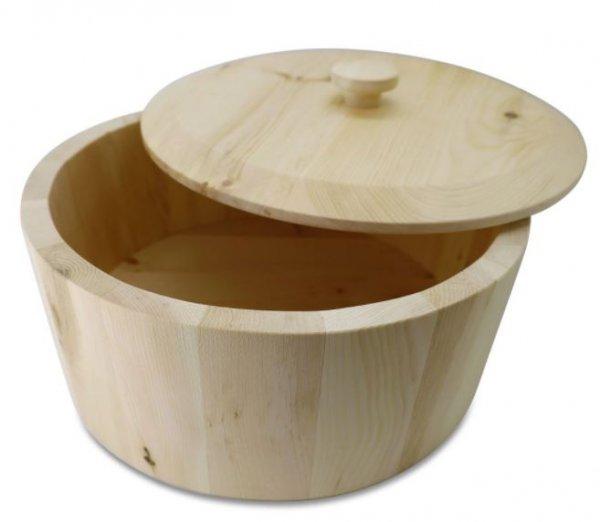Arven Zirben Brotbox rund 35 cm