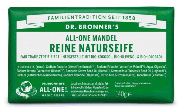 Naturseife Mandel Dr. Bronner's