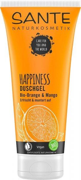 Duschgel Happiness Orange & Mango 200ml SANTE