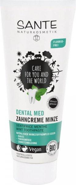 Zahncreme Minze Dental Med Fluoridfrei SANTE