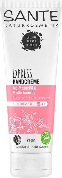 Handcreme Express Bio-Mandelöl & Weisse Tonerde SANTE