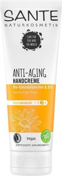 Handcreme Anti-Aging mit Q10 & Bio-Gänseblümchen SANTE