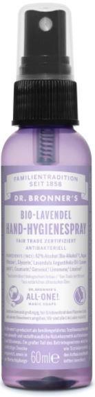 Hand-hygienespray Bio-Lavendel Dr. Bronner's