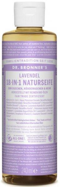 Naturseife Lavendel 18-in-1 Dr. Bronner's