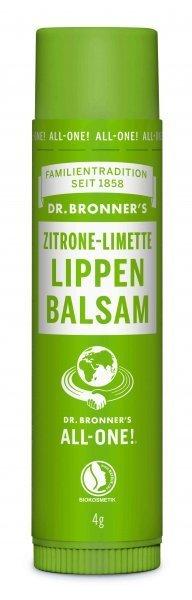 Lippenbalsam Zitrone & Limette Dr. Bronner's