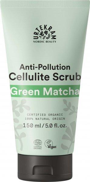 Green Matcha Cellulite Körperpeeling 150ml von Urtekram