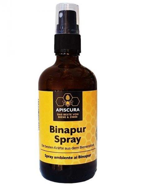 Binapur Raumspray 100ml - zirbe mit Imker-Honig
