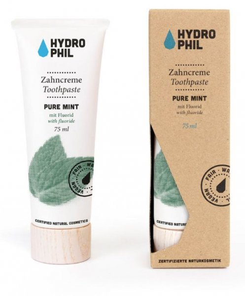 Zahncreme Pure Mint 75ml Hydro Phil