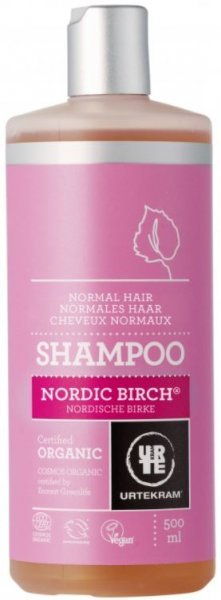 Nordische Birke Shampoo für normales Haar 500ml Urtekram