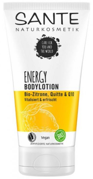Bodylotion Energy Bio-Zitrone & Quitte SANTE