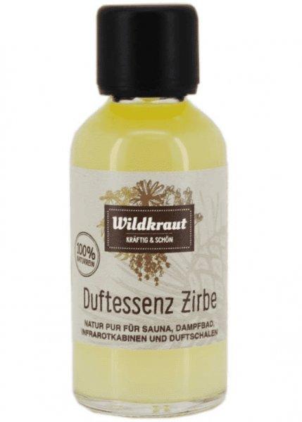 Duftessenz Zirbe von Wildkraut - für Ihre Sauna geeignet