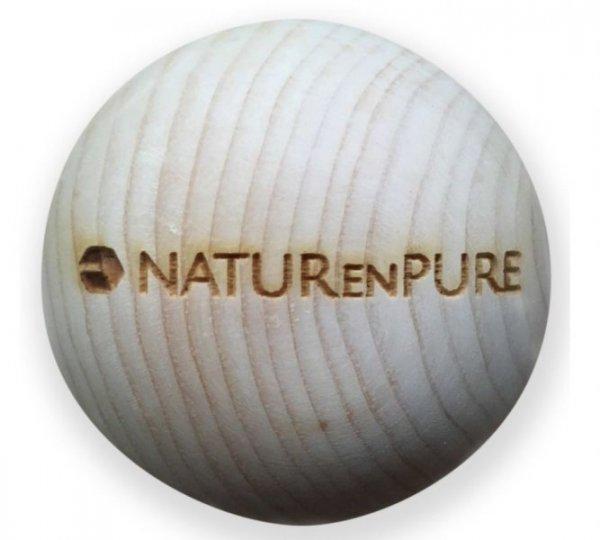 Zirbenkugel naturenpure aus Zirbenholz, handgefertigt