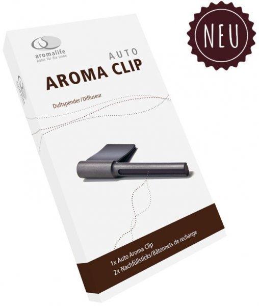 Auto Aroma Clip Duftspender inkl. 2 Ersatzsticks Aromalife