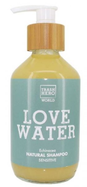 natürliches Shampoo ohne Silikone und Parabene - Trash Hero