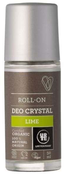 Limette Deo Roll-On Crystal von Urtekram